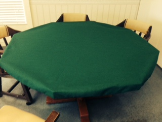 Our Poly Felts Are 100% GENUINE KUNIN FELT. Our Tablecloth Wraps Around  Your Current Table To Create An Inexpensive Casino Style Poker Game Table.