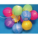 Round Lantern Light Set Summer Party - Parties - Decorations -  Party City