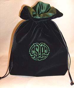 Velvet Drawstring bags for Trophy presentation - made to order ...